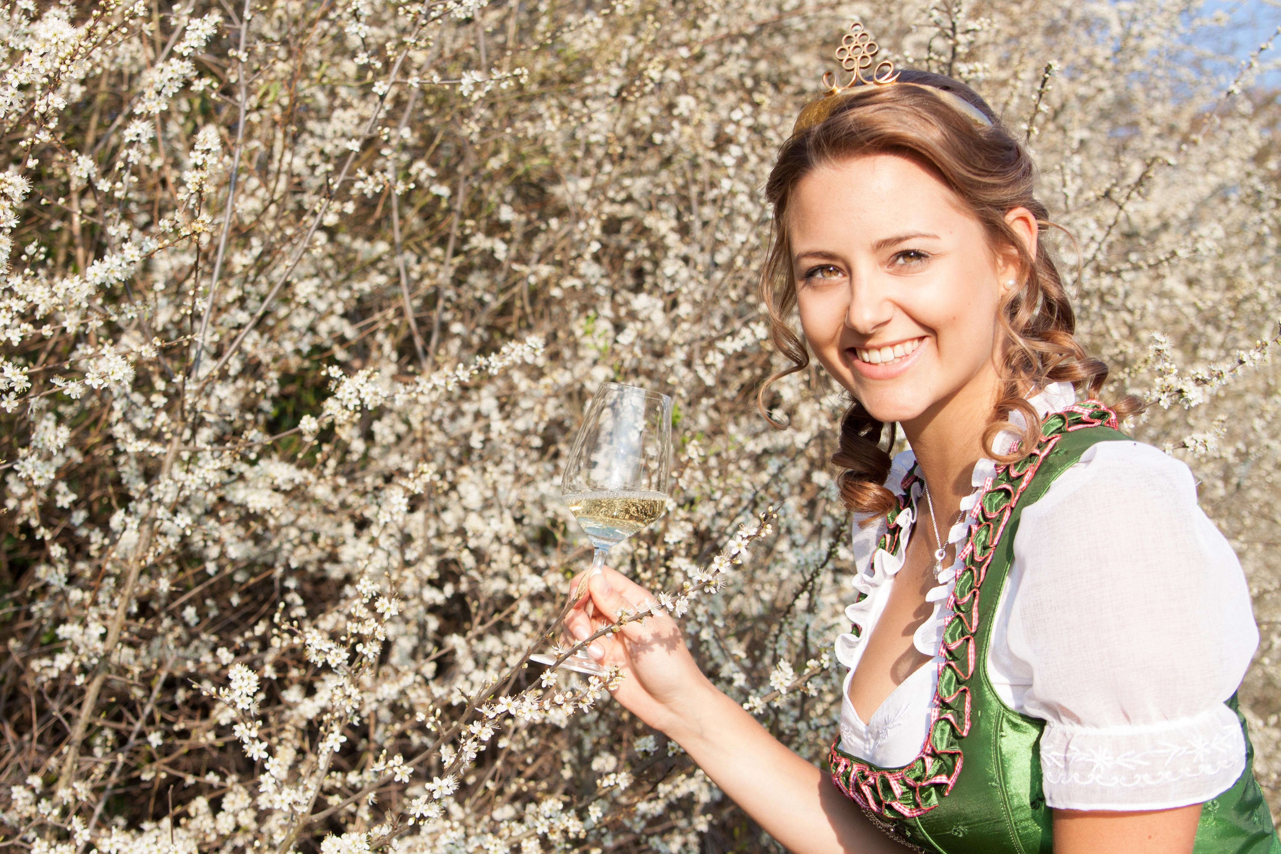 Weinprinzessin Jenny